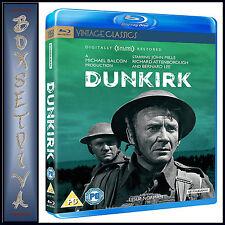 DUNKIRK- DIGITALY RESTORED- John Mills & Richard Attenborough *BRAND NEW BLU-RAY