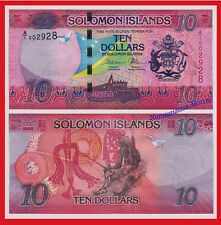 SOLOMON SALOMON ISLANDS 10 Dollars dolares 2017 Pick NEW -  SC / UNC