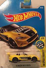 Hot Wheels Mazda MX-5 Miata Diecast metal car toy scale 1/64 Mattel DTX65 3+.