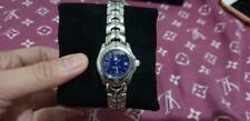 Authentic TagHeuer Link WT1415 SS Date Blue Dial ladies
