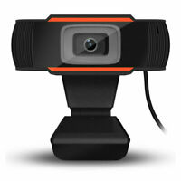 Rotatable 2.0 HD Webcam PC Digital USB Camera Video Recording without Microphone