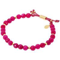 Gorjana Power Gemstone Pink Jade Beaded Bracelet For Dream 17120570GPKG
