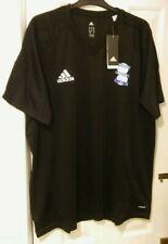 Birmingham City Adidas Black Training Shirt 2017/2018 Season. Size XXXL BNWT