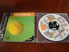 Tennis by Agetec Game for Sony Playstation PS1 PSX Disc Only