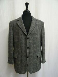 Men's Harris Tweed Jacket Blazer 42R Dry Cleaned