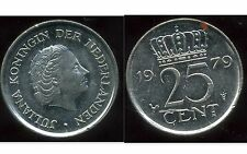 PAYS BAS  25 cents 1979