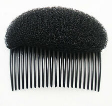 1Pc Black BUMP IT UP Volume Inserts Do Beehive hair styler Insert Tool Hair Comb