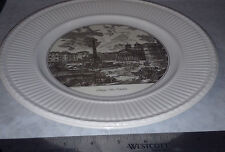 Wedgwood China Plate View of the Piazza della Rotonda before the Parthenon