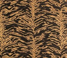"54"" wide Sabu Black Velvet Animal inspired Upholstery Velvet Fabric per yard"