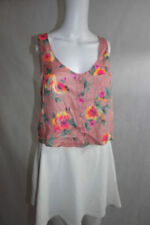 Topshop Hand-wash Only Floral Regular Size Tops for Women