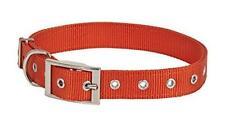 "Petmate Aspen Pet Products NYL 2Ply Collar, Orange, 1"" x 20-28"""