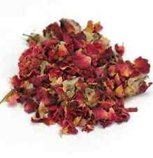 Rosebuds and Petals Red - Dried Whole flowers and Petals - 1 LB