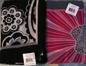 $NWT58 Vera Bradley Scarf Soft Wool - Cherry Blossoms or Midnight paisley