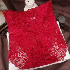 Women Seamless Lace High Waist Underwear Ladies Brief Knicker Panty Size Plu 3XL