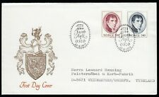 Norway 1973 FDC Birth Bicentenary Of Jacob Aall