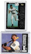 ALEX RODRIGUEZ ROOKIE LOT: 16 MINT ALL DIFFERENT ROOKIE CARDS