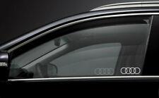 2x Audi Car Door Window Etched Effect Decal Stickers A3 A4 A6 Quattro Premium