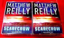Matthew Reilly Scarecrow Shane Schofield 4-Tape Audio Book Steven Pacey Thriller