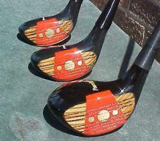 Powerbilt Citation Golf Clubs RH set Woods Driver 4 5 w New Mint Tour Wrap Grips