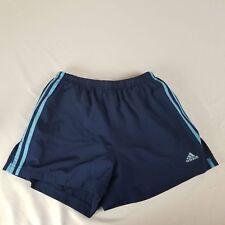 Adidas Womens Shorts Size M Navy Blue Athletic Running