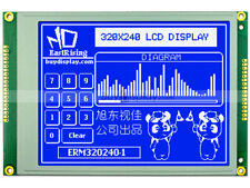 320x240 Blue Graphic LCD Module Display,RA8835 (SED1335),Optional Touch Panel