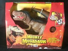 Mighty Megasaur Light and Sound Battery Operated Tyrannosaurus Rex MIB
