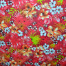 Red Cotton Hawaiian Print Fabric 58 inches width sold by the yard