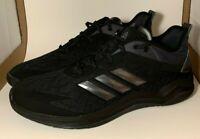 Adidas Men's Size 14 Triple Black Speed Trainer 4 Turf Baseball Shoe cg5135 NWOB