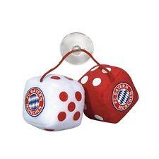 FC Bayern München FCB: Plüschwürfel Spiegel-Anhänger offizielles Lizenzprodukt