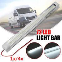 12v 72 LED PLAFONIERA Interne Luce Lettura Bianco Lampada Impermeabile Auto