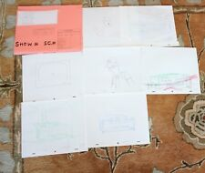 THE KING OF THE HILL TV SHOW ORIGINAL STORYBOARDS SET USED SKETCHES DRAWING 6