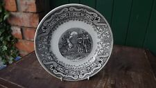 1859  Italian Campaigns Plate Battle of Solferino  Le 11 Chasseurs a Pied