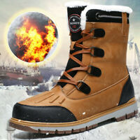 Men's Winter Snow Boots High Quality Waterproof Insulated Hunting Hiking Shoes