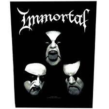 OFFICIAL LICENSED - IMMORTAL - BLASHYRKH SEW ON BACK PATCH BLACK METAL THRASH