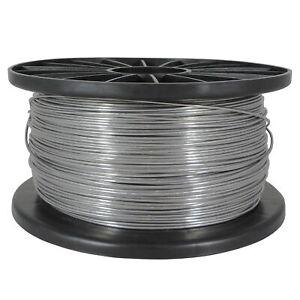 Aluminiumdraht Glattdraht Aludraht Ø 1,8 mm - 400 m Elektrozaun Weidezaun Draht