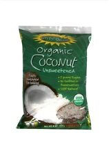 Let's Do Organic Shredded Unsweetened Coconut 8oz Packages Pack of 12(O)