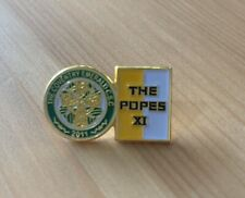 Coventry Emerald Celtic Supporters Club Pin Badge 2020 Popes XI