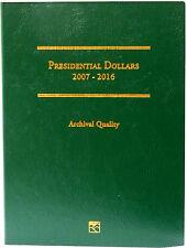 Littleton Coin Folder LCF35 Presidential Dollar 2007-2016