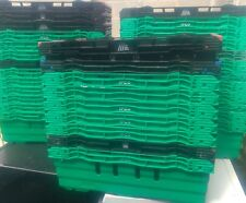 8 Bale BAIL ARM TRAY crates stacking storage trays plastic supermarket £ 2.00 ea