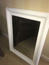 "Large Shabby Sheek Antique Ornate Design Big Wall Mirror Bargain 33x44"""
