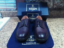 $675 Tricker's Woodstock shoes, UK 11 US 11.5, espresso scotch grain,new in box!
