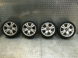 2000-2010 VOLVO S60 V70 S80 4 ALLOY WHEELS WITH TYRES 5X108 7.5J R17 30643770