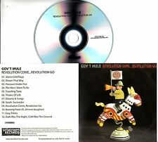GOV'T MULE Revolution Come...Revolution Go 2017 UK 12-trk promo test CD