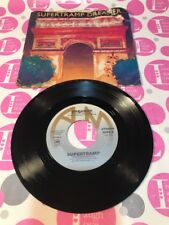 "SUPERTRAMP: ""Dreamer"" / ""From Now On"" 45 RPM W/ ORIG. PICTURE SLEEVE NM-"