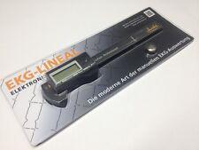 Weltneuheit - elektronisches EKG-Lineal für 50mm/s Ausdruckgeschwindigkeit