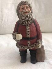 All Gods Children Martha Holcombe St Nicholas White Santa Figurine Nib Coa Ed 91