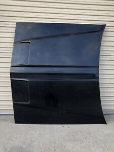 1980-1990 Chevy Caprice Impala Functional Ram Air Hood with Single Weave Inserts