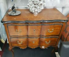 X Display French provincial Antique 2 Drawer Dresser in chestnut ORP $3499
