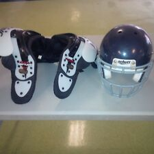 Re- Conditioned Blue Schutt Youth Helmets and Shoulder Pads