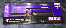 """Hot Tools 3/8"""" Marcel Iron Wand Curling Iron - New"""
